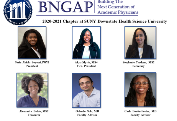 2019 BNGAP Health Related Academic Career Development Conference for College and Post-Bacc Trainees