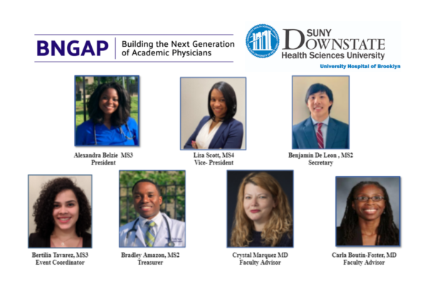 2021 BNGAP Health Related Academic Career Development for College and Post-Bacc Trainees